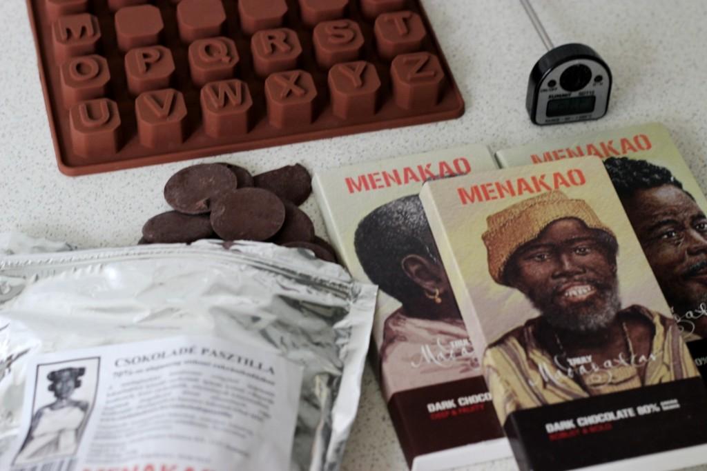 Czekolada do czekoladowego telegramu