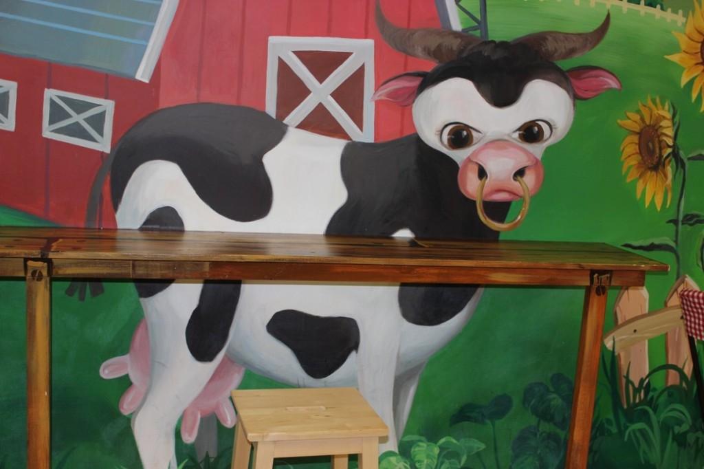 Krowa rysunkowa