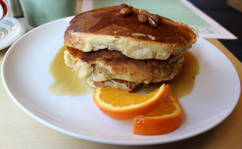 Pancake w syropie klonowym
