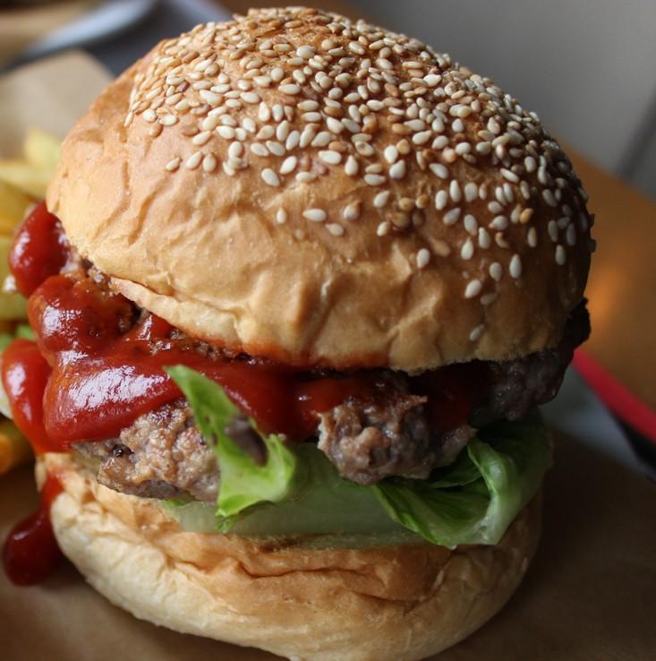 trafik Gdynia burger wołowy