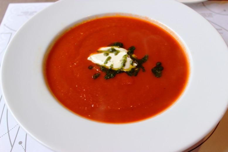 Krem z pieczonych pomidorów - Malika