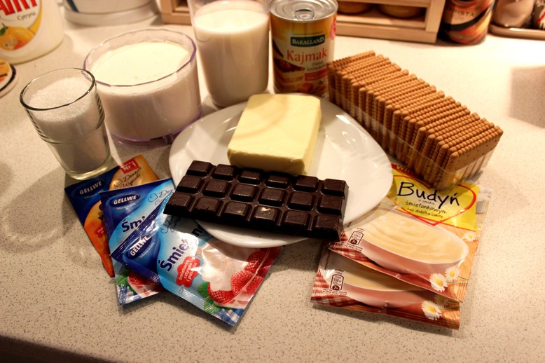 Ciasto 3 Bit Bez Pieczenia Na Herbatnikach Blog Kulinarny