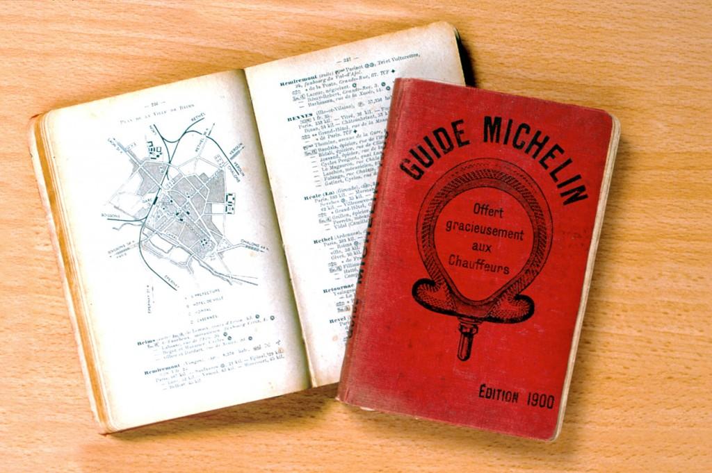 Przewodnik Michelin restauracje 1900