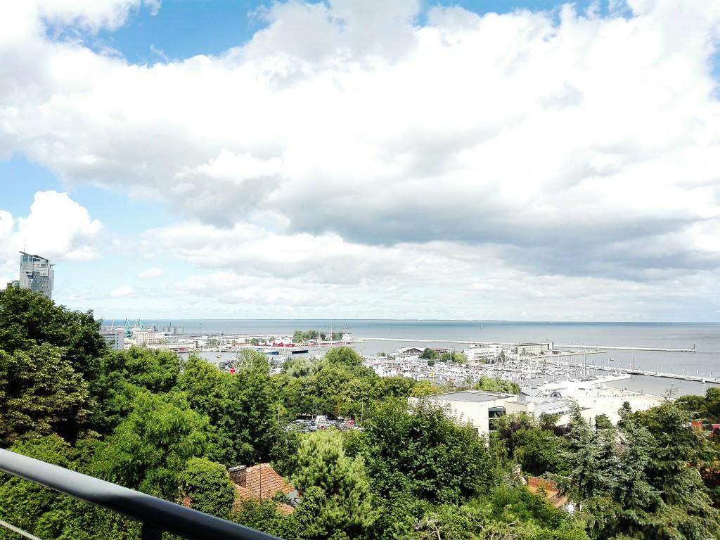 Panorama Gdyni z resuracji